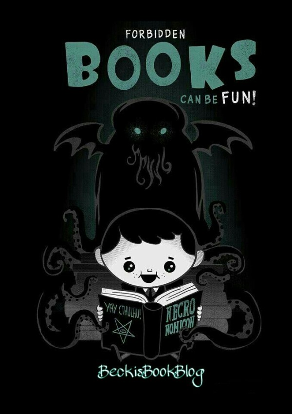 Be naughty, READ A BOOK!