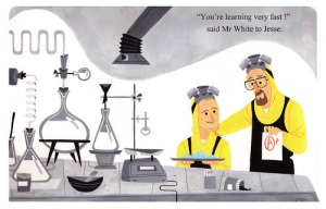 If BREAKING BAD was a Little Golden children's book.