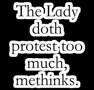 LadyDothProtest