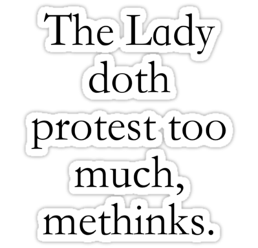 LadyDothProtest