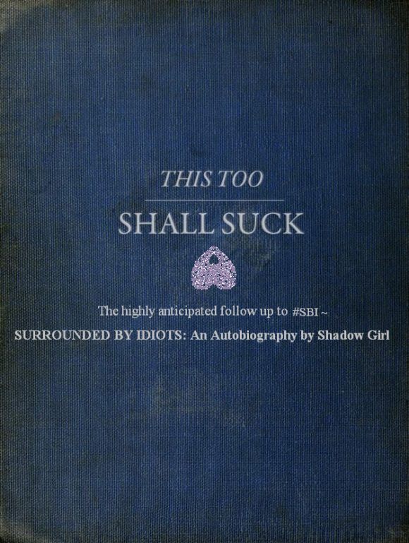 Shadow Girl. The Sequel.