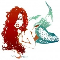 Beautiful_dirty_red-haired_lying_mermaid_tattoo_design_by_Chill07