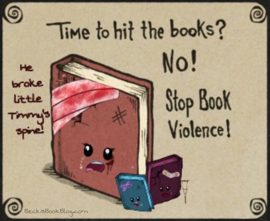 #StopBookViolence